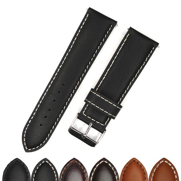 Yqi 20mm 22mm 24mm 26mm 28mm 30mm Watch Band Strap Quality Watches Belts For Men Top Brand Luxury Straps Stainless Steel Buckle T190702