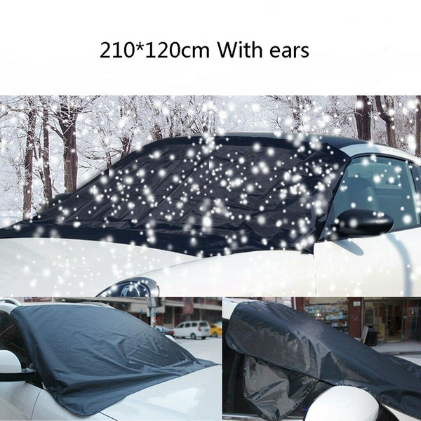 Car Windscreen Cover Snow Frost Ice Winter Sun Shade Dust Protector Shield UK