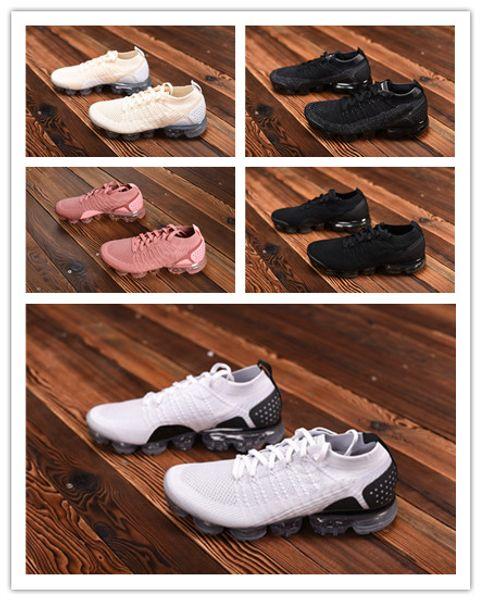 2018 mens air coussin designer chaussures de course dames sports occasionnels en plein air randonnée chaude randonnée chaussures de jogging boîte originale ccemcr