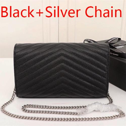 Black+Silver Chain(come with Y_S_L)