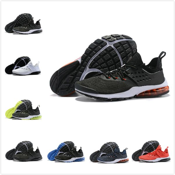 Nike Air Presto Ultra low Novos zapatos designer sapatos presto ultra run triplo preto branco amarelo Sock dardo Barato Mulheres Mens Sneakers meias casuais sapato Sports sneaker