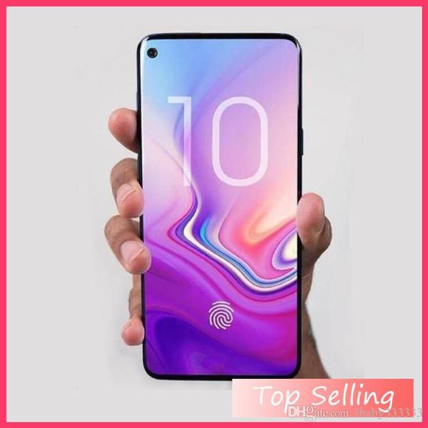 HOT Goophone S10 Plus 4G Lte Octa Core 6,3 Zoll S10 + RAM 1 GB ROM 16 GB Android 7.0 Kamera 13.0MP Gesicht Iris ID entsperrt Smartphone