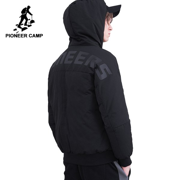 0c21ff83f6c Pioneer Camp fashion duck down jacket men brand clothing thick warm winter  down coat male top