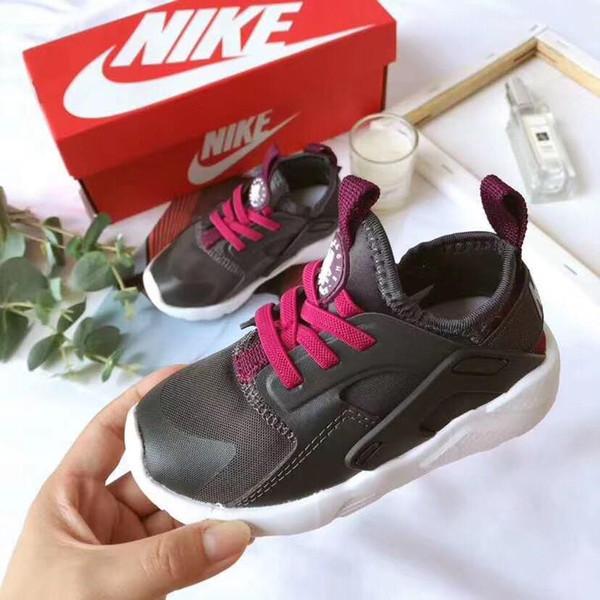 2019 Новые Детская обувь для мальчиков кроссовки девушки спортивная обувь Детский досуг Tenis Infantil повседневная дышащий бег Детская обувь