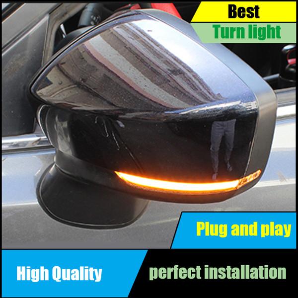 Pour Mazda 3 6 M3 M6 Axela Atenza 2017 2018 Côté Porte Dynamique Jaune Clignotant Lumière Lampe Car-styling Auto Pièces