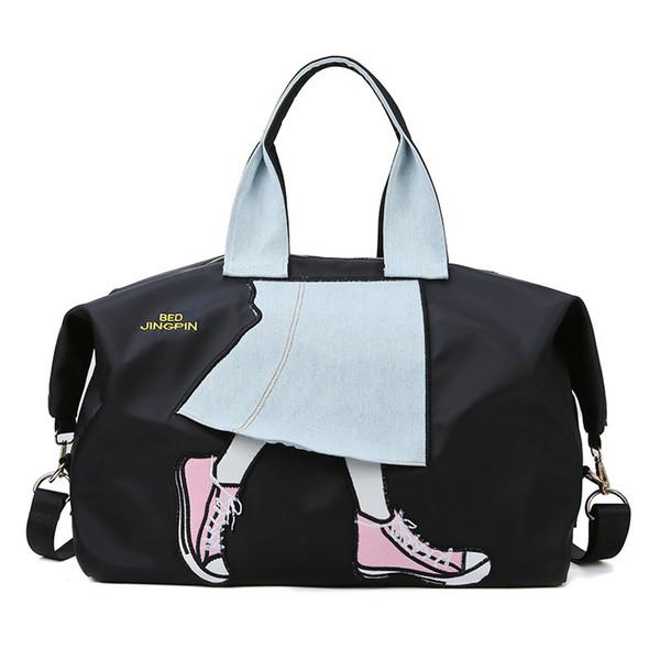 Спортивная сумка для фитнеса с большой вместимостью на одно плечо Сумки для йоги для длительных и коротких поездок Новые
