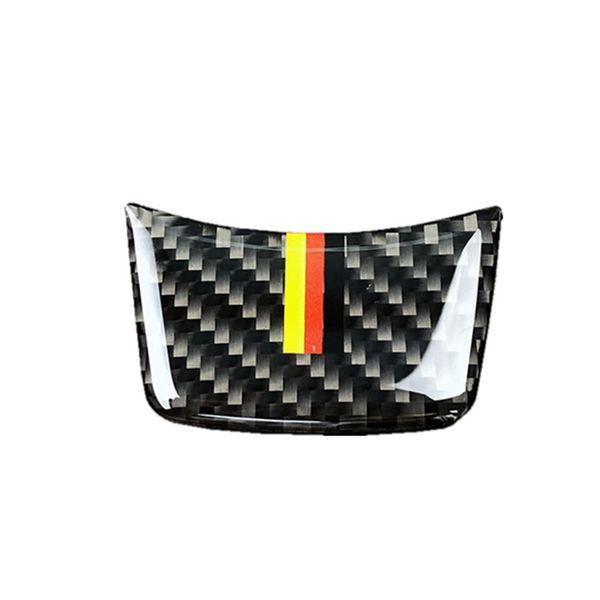 Steering Wheel Car Sticker Carbon Fiber Steering Wheel Trim Sticker for Audi A4L A6L A3 Q3 Q5 Q7 Car Styling Accessories