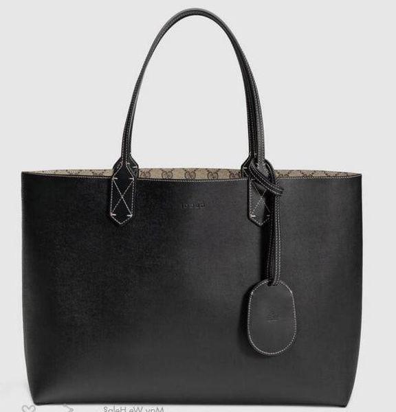 2019 Reversible Medium Tote 368568 Women Fashion Shows Shoulder Bags Totes Handbags Top Handles Cross Body Messenger Bags