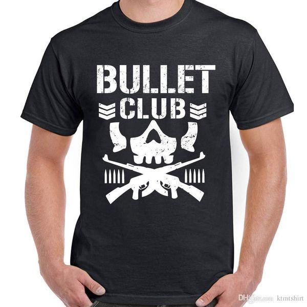 Bullet Club Mens Pro Wrestling camiseta Japón MMA WW WCW UFC NJPW