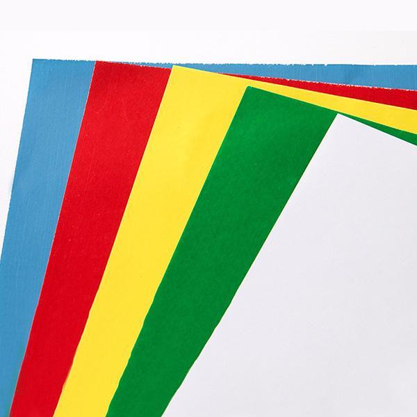 Un paquet de cinq couleurs