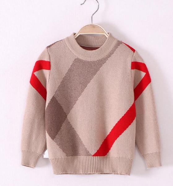 New kid jumper Use Moda Casual Niño Niños Chicos Suéter niño suéter tops Abrigo de niños para niños Suéteres de niños lindos