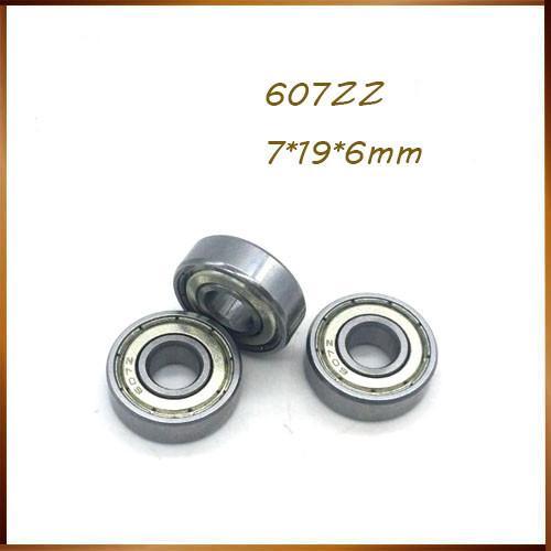 607zz подшипник ABEC-5 7x19x6 мм миниатюрные 607z шарикоподшипники 607 ZZ EMQ Z3 V3 миниатюрные радиальные шарикоподшипники