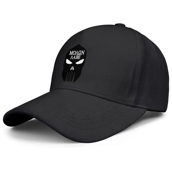 Punisher Skull Spartan black for men and women baseball cap cool designer custom hats sports vintage team cap unique original baseball ha