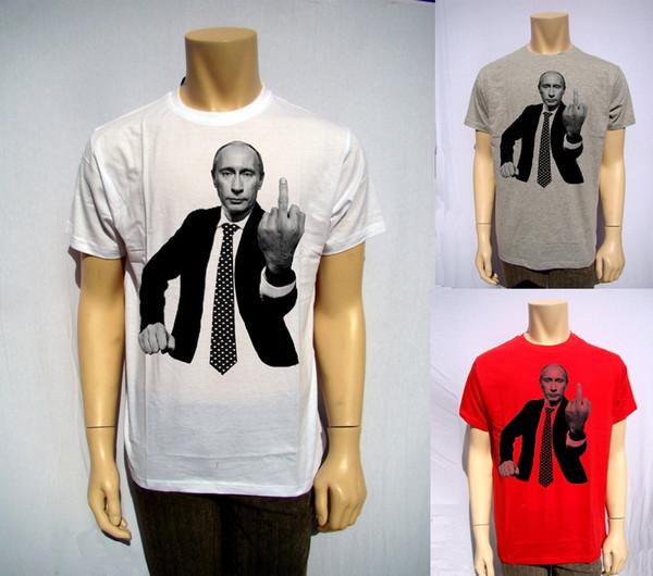 Мужская Путин Президент России НАТО Москва Кремль КГБ пародия смешно футболка подарок смешные бесплатная доставка мужская повседневная футболка топ