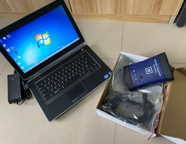 Für GM MDI WIFI Multiple Diagnoseschnittstelle Hochwertiges MDI Selbstdiagnosewerkzeug mit E6420 i5 Laptop GDS SSD gut installiert
