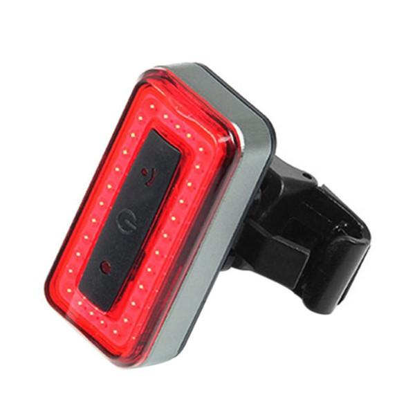 USB Bisiklet Işık Ön LED Arka Işık Fren Sensörü Için Bisiklet Bisiklet USB Şarj Edilebilir Uyarı Lambası