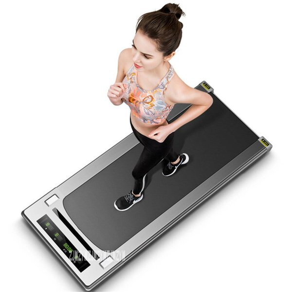 best selling Quality Mini Treadmill Fitness Equipment Easy To Run Treadmill Home Mute Flat Body Building With  Without Handrail