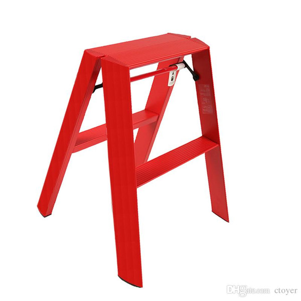 Magnificent 2019 18S Supladder Luca Red Hockerleiter 18 Step Ladder Fw Red Box Logo Bearing Folding Ladder Weight 150Kg High Quality From Mtoyer 166 14 Cjindustries Chair Design For Home Cjindustriesco