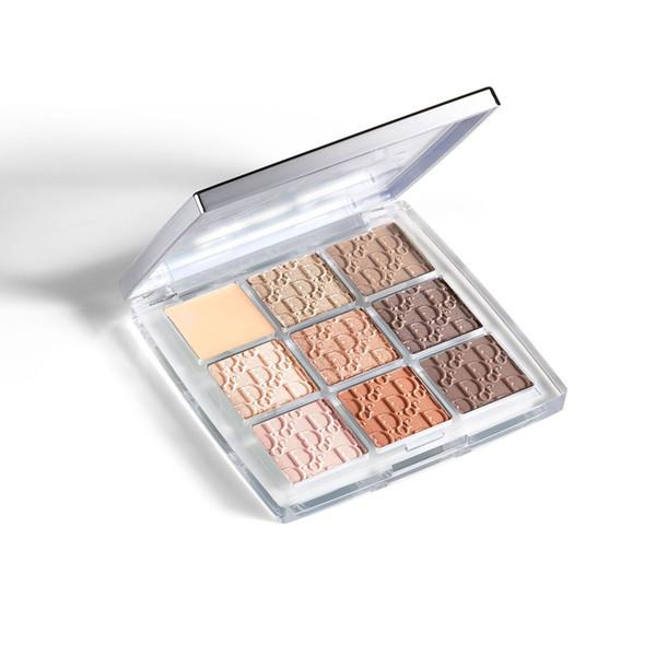 Huda Eye Makeup 9 Color Ultimate Matte Beauty Langlebig Natürliche Multi-Finish Backstage Lidschatten-Palette 10g