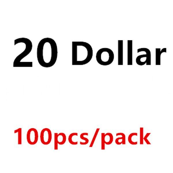 20 Dollar 100PCS