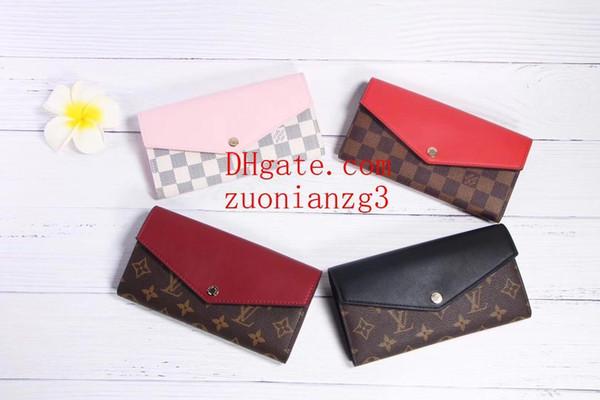 portefeuilles nouveau style tendance portefeuille mode hommes femmes mini porte-carte porte-cartes porte-cartes ouvertes carte D-6
