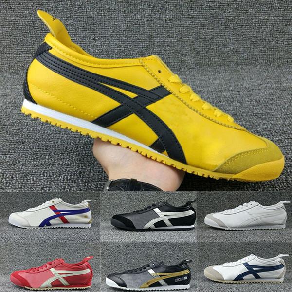Gel Lyte Tiger Running Shoes For Men Women All-match Design Golden Black stripe Trainer Sports Sneakers Athletic Jogging Shoes Size 36-44