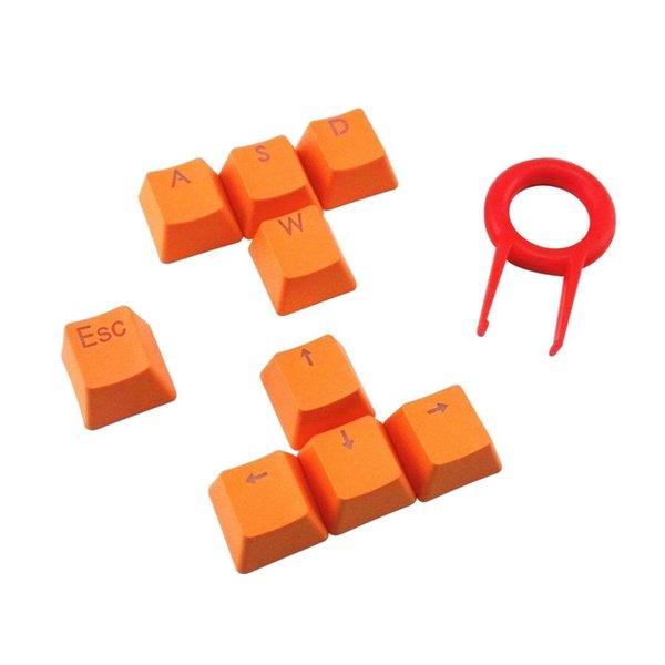 Mekanik Klavye Için oyun PBT Keycaps Turuncu DoubleShot Enjeksiyon FPS Keycap Değiştirme Için Anahtar Çektirme ile Set DIY