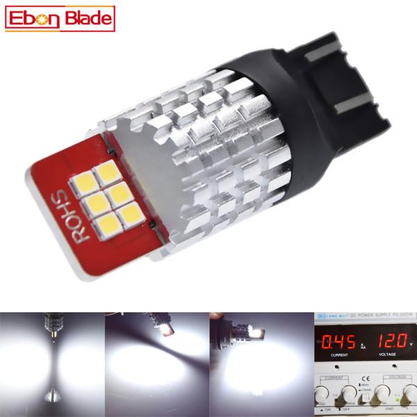 1Pcs T20 7443 W21/5W 7440 W21W WY21W High Power 2835 LED Bulbs For Tail Reverse Brake Turn Signal Light White Car Styling 9v-16v