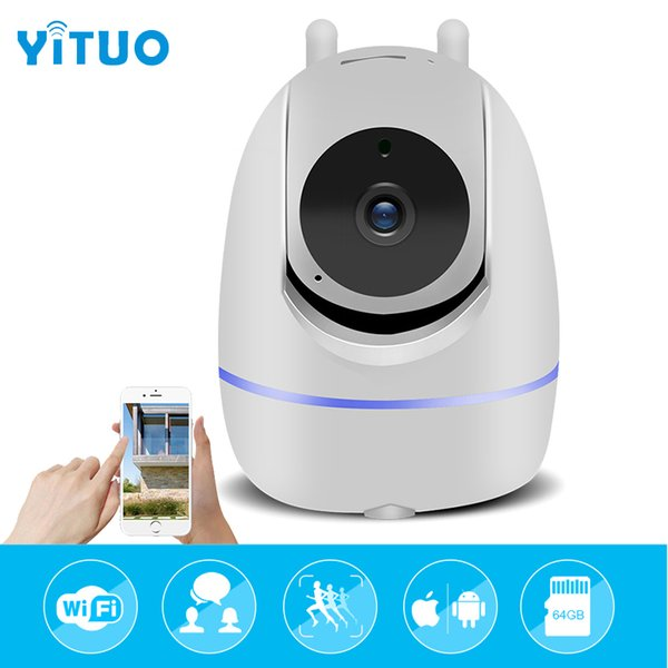3.0MP Home Security IP Camera Wi-Fi Wireless Full HD Smart Baby Monitor IR-Cut Night IR Automatic tracking PTZ Cloud CCTV Cameras