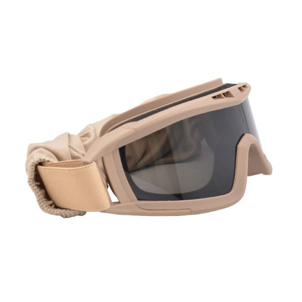 Hot 1 Set Goggles Glasses Windproof Protect Eye Accessories for Outdoor Cycling Sport MCK99