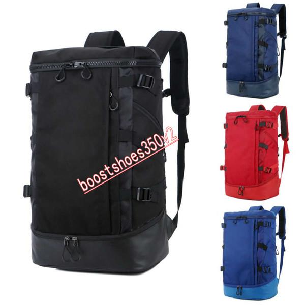 Nuove borse di design Moda Uomo Donna Designer Zaino Nero Blu Rosso Grigio Grande capacità borsa da viaggio Borse da scuola 4 colori