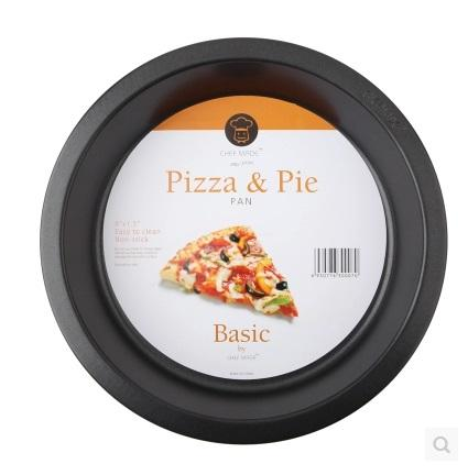 Round Carbon Steel Non Stick Pizza Pan for Baking Cake Pizza Pie Bread Loaf for Microwave Oven Free Shipping