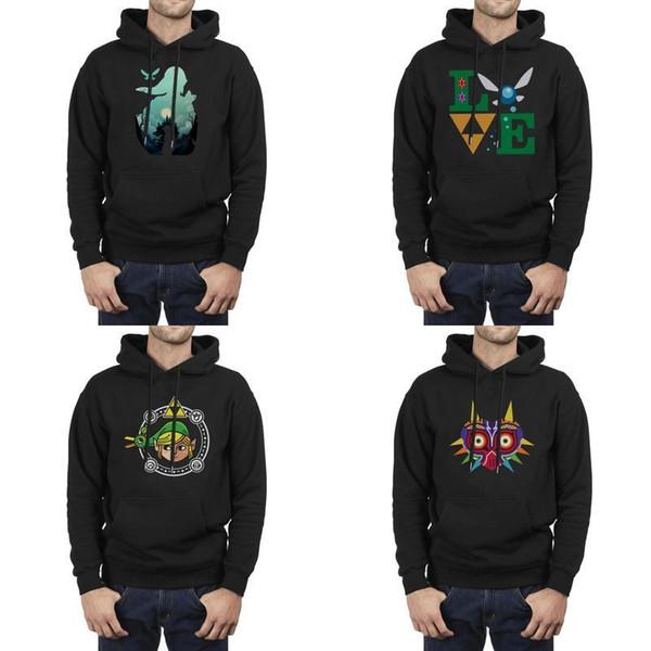 Mode Hommes Legend Of Zelda Breath sauvage surdimensionné Hoodies, Sweat-shirt Casual Vintage fou Sweats à capuche AMOUR SVG Modèle de coupe du fichier
