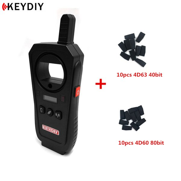 KEYDIY KD-X2 Remote Maker Unlocker Generator-Transponder Chip Copier Car Key Frequency Tester with 20pcs Chips English Version