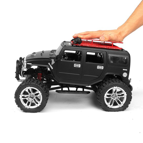 2019 Newest HG P403 1/10 2.4G 4WD 20km/h Black Color Rc Car Rock Crawler Off-road Truck RTR Above 100m Toy kids For Gifts