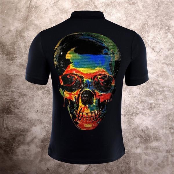 Moda manica corta Abbigliamento estivo magliette per uomo Tees 2019 nuovi prodotti Indietro Colorful Shantou