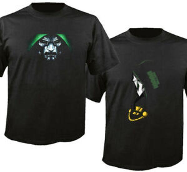 Docteur Dr Doom BlaHarajuku T-shirt En Coton À Manches Courtes DD