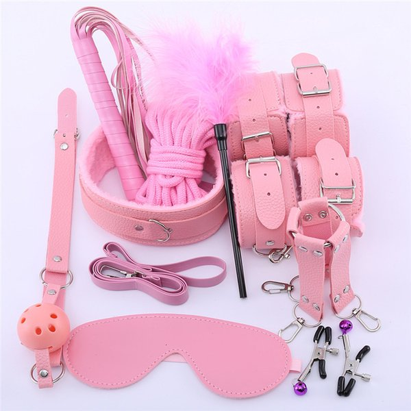 4leather 10pcs pink