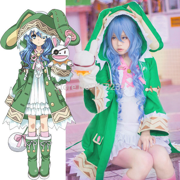 DATE A LIVE Yoshino Halloween Elves Dress Uniform Outfit Costumes anime cosplay costumes