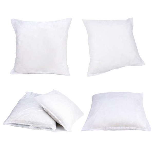 top popular Pillow Inner White Soft Throw Pillow Filling for Sleeping 45*45cm 40*40cm Sore Neck Pillow Cushion Insert Filler Inner Pad For Pillowcase 2019