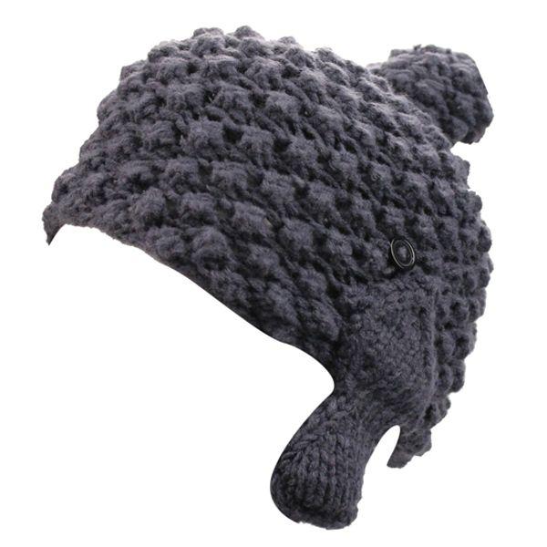 Femmes Hiver À La Main Crochet Tricot Sports De Plein Air En Cours D'exécution Ski POM POM Chapeau De Bonnet De Crâne Avec Earflaps Oreillettes