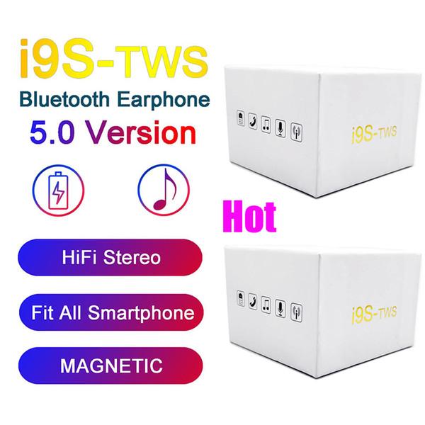 I9S Tws 5.0 Kopfhörer Mini-Kopfhörer mit Pop-Up-Fenster Stereo TWS Earbuds für alle Telefon mit Ladebox drahtlose Bluetooth-Kopfhörer