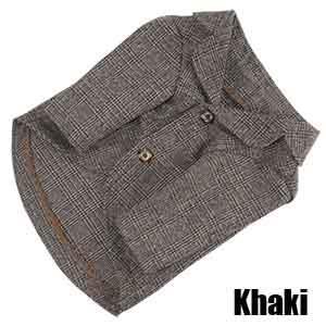 Хаки пальто