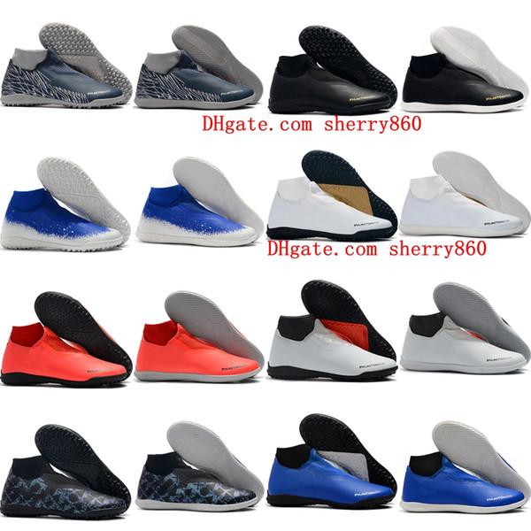 2019 scarpe da calcio Phantom Vison Academy DF IC scarpe da calcio indoor Academy MG TF scarpe da calcio da uomo scarpe calcio originali di alta qualità