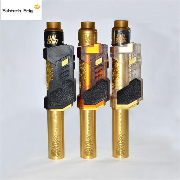 Çift Tüp Kule Mod Takımı Kule Mech Mod Ile 24mm RDA 18650 pil Ayarlanabilir Hava Akımı Vape Buharlaştırıcı E Sigaralar Yüksek Kalite