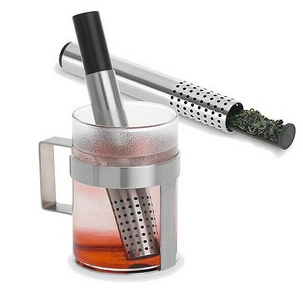 Neue bequeme Presse Typ Mesh Tee-Ei Filter Kaffee Teekanne Drink Werkzeuge Kreative Edelstahl Tee Stainer Hohe Qualität