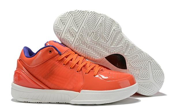 Nuovo progettista Zoom Kobe IV 4 Protro Mens Basketball Shoes giorno progetto Hornets 4s formatori Cesti des Chaussures Schuhe Scarpe Sneakers
