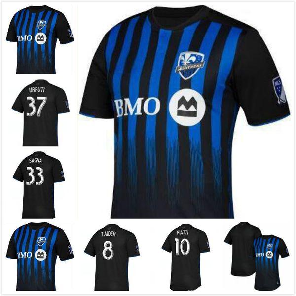 Top Qualidade Tailandesa 19 20 Montreal Impacto Casa Camisas De Futebol 2019 2020 ODURO PIATTI CIMAN Futebol Usa Uniformes Esportivos Camisas De Futebol