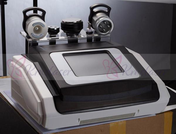 Touch Screen 40K Ultrasonic cavitation body sculpting slimming vacuum RF skin Firm body lift machine