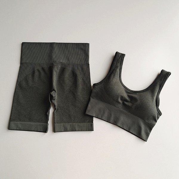Ensemble gris foncé